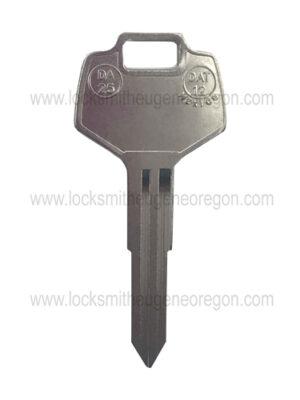 1982 - 2011 Nissian Infiniti Subaru DA 25 Mechanical Key
