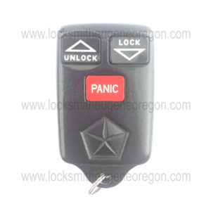 1996 - 1999 Chrysler Dodge Jeep Keyless Entry Remote