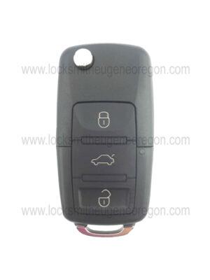 1998 - 2016 Volkswagen Audi Remote Head Key