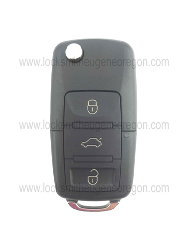 1998 - 2016 Volkswagen Audi Remote Head Key