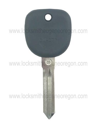 2004 - 2012 Buick Chevrolet GMC Pontiac Saturn Transponder Key