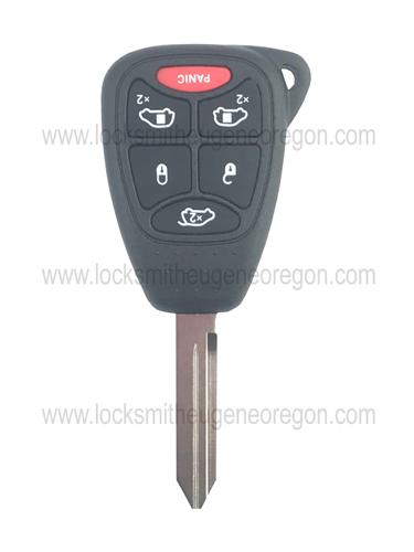 2004 - 2017 Chrysler Doge Jeep Remote Head Key