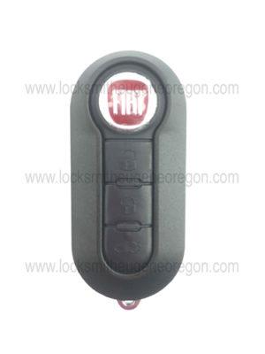 2012 - 2015 Fiat 500 Remote Head Key