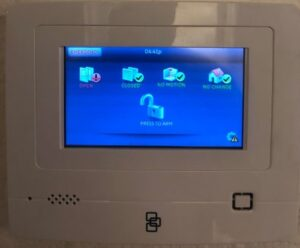 Smart Alarm Security System Control Panel