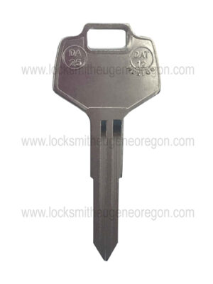 1982 - 2011 Nissian Infiniti Subaru DA 25 Mechanical Key