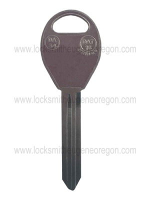 1996 - 2015 Nissan Infiniti Subaru Mechanical Key