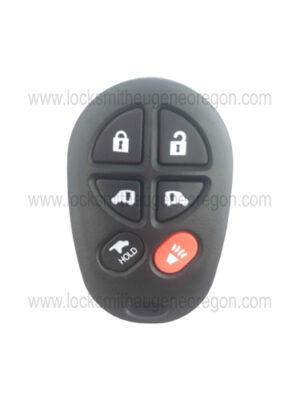2004 - 2017 Toyota Keyless Entry Remote