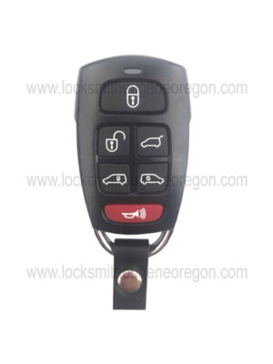 2006 - 2009 Hyundai Kia Keyless Entry Remote