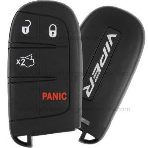 2013 - 2014 Dodge Viper Smart Key 4B Trunk - M3N-40821302 - 434 MHz