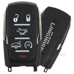 2019 - 2020 Ram 1500 Longhorn Smart Key 6B Starter - Tailgate - Air Suspension - OHT-4882056 - 433 MHz