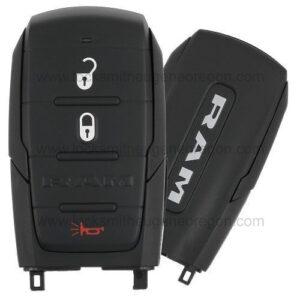 2019 - 2020 Ram 1500 Pickup Smart Key 3B - OHT-4882056 - 433 MHz - Black Sides